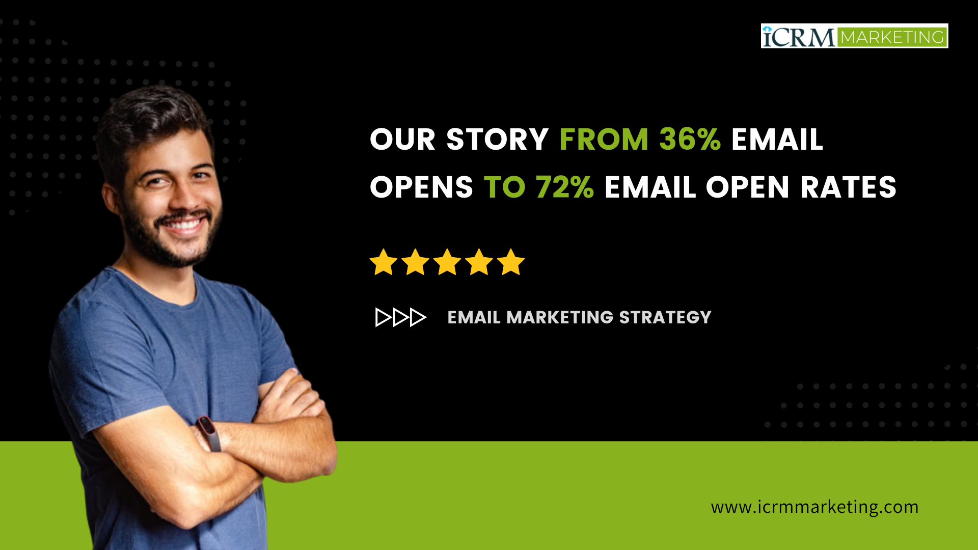 Our story from 36% email opens to 72% email open rates